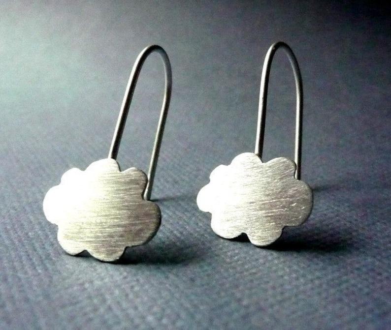 8e98cd1b3 Earrings. Modern Contemporary Simple Sleek Elegant Design. | Etsy