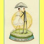 2017 CUSTOM Illustration Original Watercolour Portrait COUPLE for BIRTHDAY Anniversary Gift