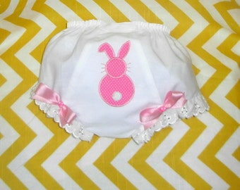 Pink Polka Dot Bunny Bloomers
