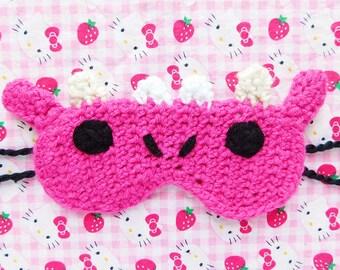 Dragon Crochet Sleep Mask
