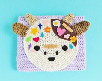 Kawaii Mooey Crochet Painting