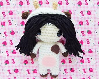 Cow Kigurumi Doll