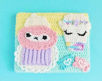Extra Sugar Crochet Painting