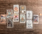 tiny tarot vinyl stickers