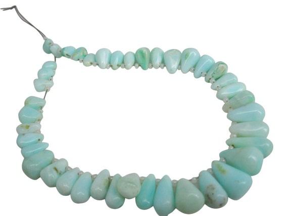 SKU 4948 Blue Opal Teardrop Briolette Faceted Teardrops Peruvian Blue Opal Beads Peruvian Opal Briolettes Peruvian Opal Drops