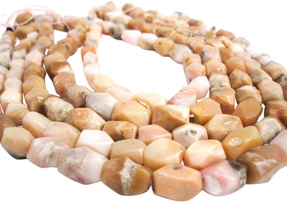 Materiale scolastico Pink Opal Shaded Smooth Oval Gemstone Loose Craft Beads Strand Necklace 16 12mm 14mm