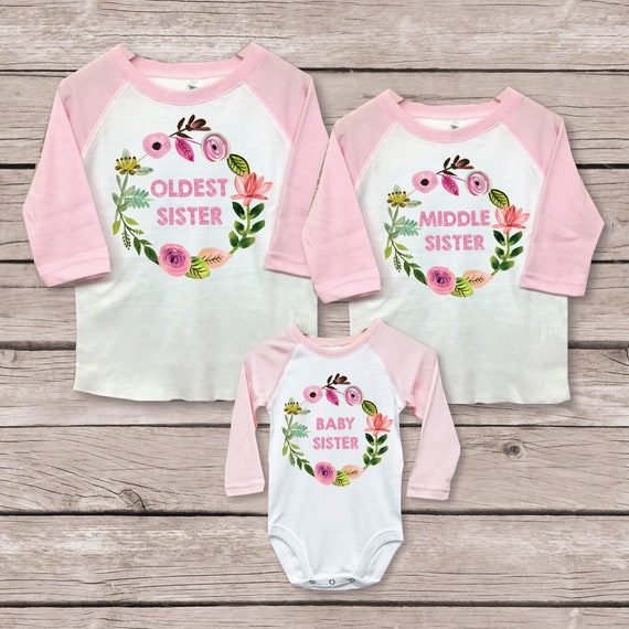 sibling gift ideas baby shower I/'m the Big Sis T-Shirt Gifts for new sisters