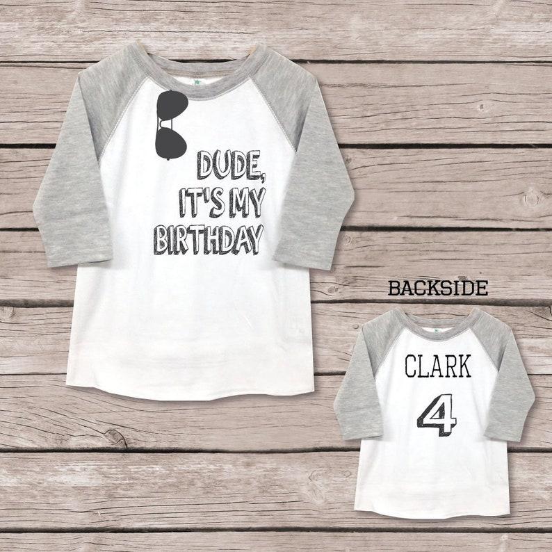 4th Birthday Shirt Four Boy Boys