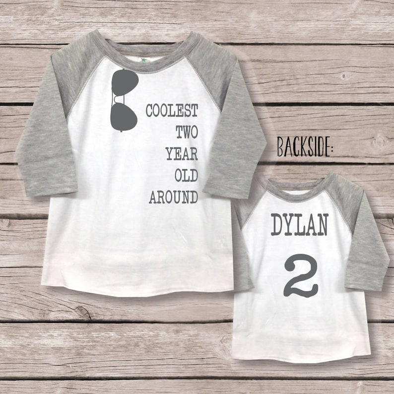 Boys 2nd Birthday Shirt Two Second