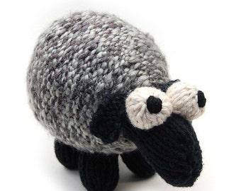 Sheepish Lamb Knit Amigurumi Plush Toy Pattern PDF Digital Download