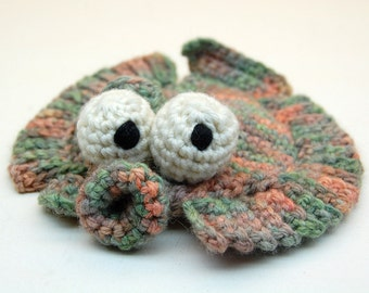 Crochet Flappy Flounder Amigurumi Plush Toy Pattern PDF Digital Download