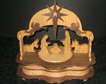 Nativity music box