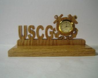 Coast Guard Clock