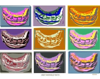 Andy Warhol's teeth