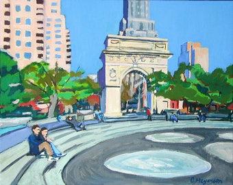 f901e759758 New York Art Washington Square Arch