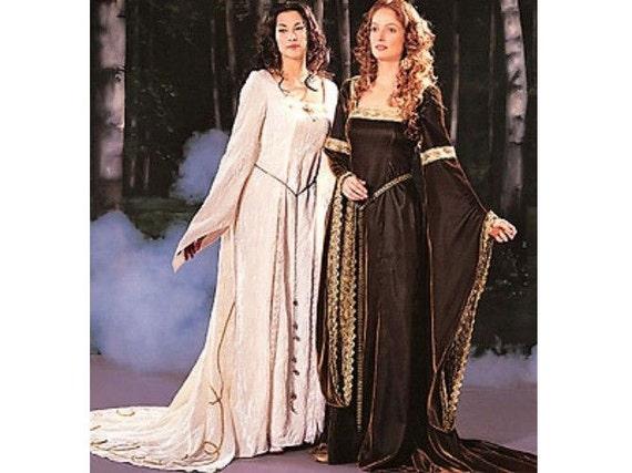 Butterick Historical Medieval Renaissance Dress Pattern Dress | Etsy