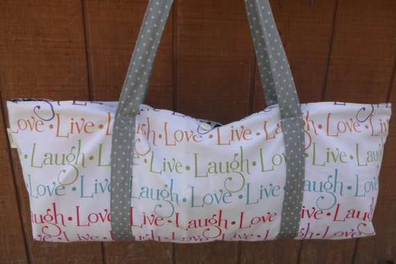 Lined Yoga Mat Carry Bag and Tote