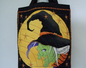 Halloween Trick or Treat Bag Witches Brew Candy Gift Bag