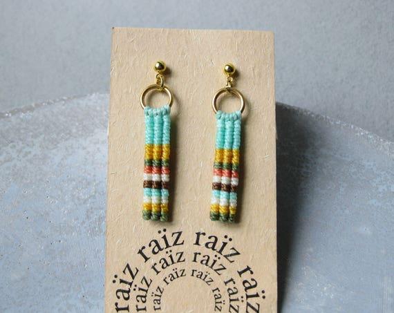 Ypê . Stud Drop Earrings . © Design by .. raïz ..