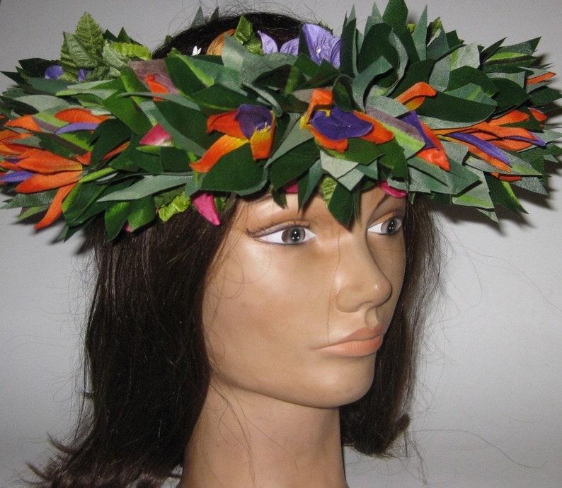 The Moku Manu Haku ~ A Quick Fix Go To Anyplace Anytime Stunning Hawaiian Headpiece
