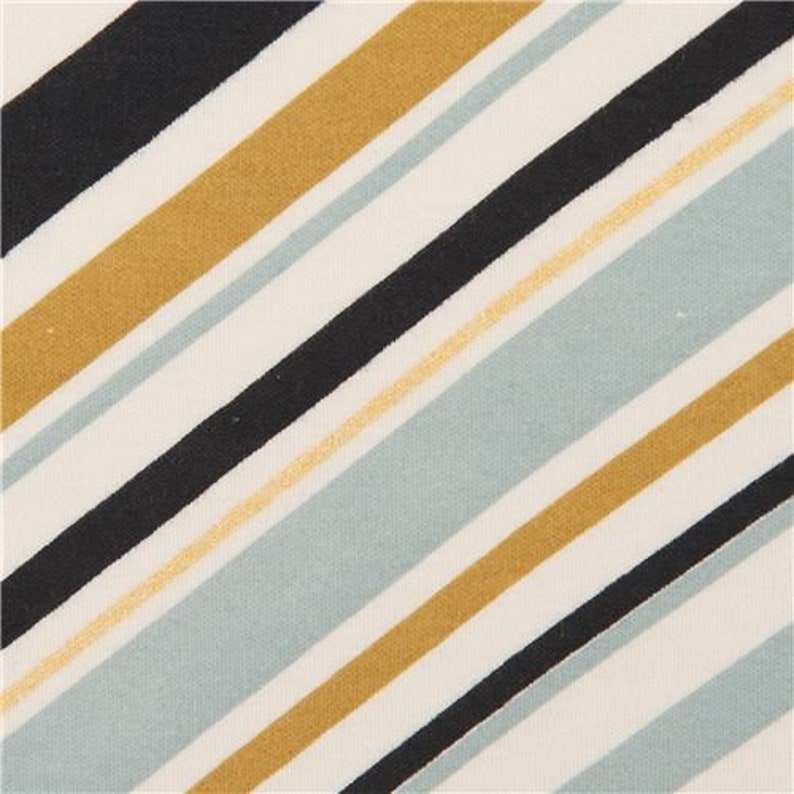 Jay-Cyn Designs Collection Design 220914 knit fabric with stripes Mod Nouveau