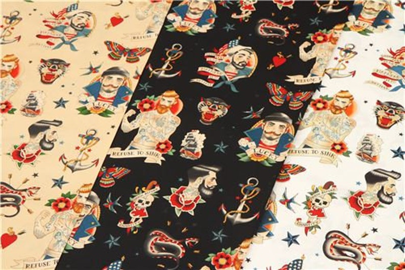 223272 Alexander Henry fabric with sailors
