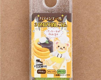 201264 DIY dough eraser set from Japan pancake teddy bear