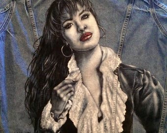 Custom Hand Painted Denim Jeans and Jackets