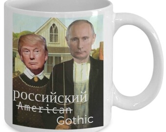 Russian Gothic Trump Putin