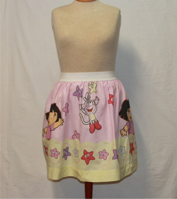 99e3eb09d64f4 SALE~Dora Ladies Skirt from upcycled fabric - -Medium 28