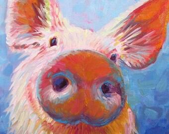 Farm Animal Art Etsy