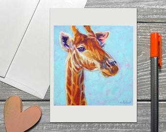 Giraffe Notecards Set, Giraffe Note Cards Blank, Giraffe Thank You Cards, Giraffe Gift, Kids Thank You Notes, Baby Shower Thank You Cards