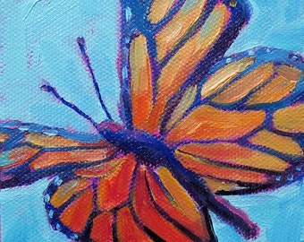 Butterfly - Insect Art - Paper - Canvas - Wood Block