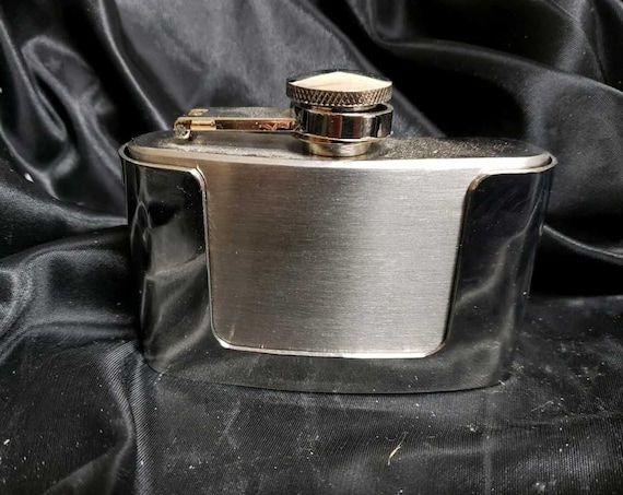 Beard Oil Belt buckle Flask