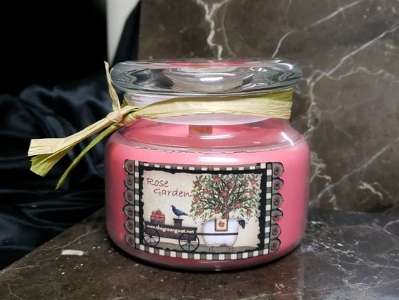 Rose garden Soy Candle