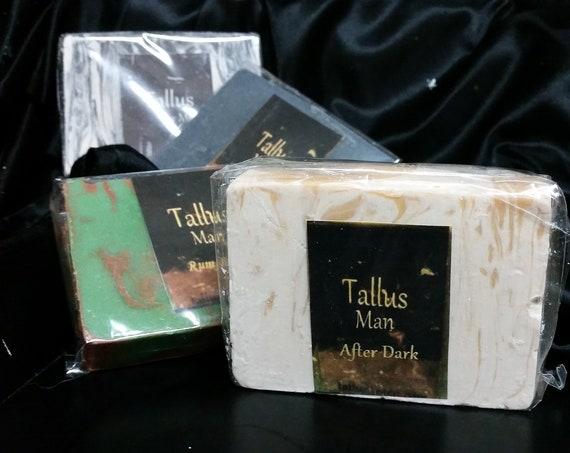 Tallus 4 pack Goat Milk Soap for Men
