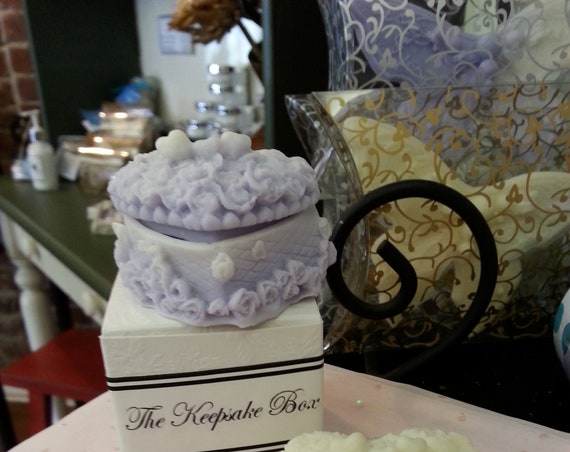 30 Keepsake Box Goat Milk Soap Bridal Favor