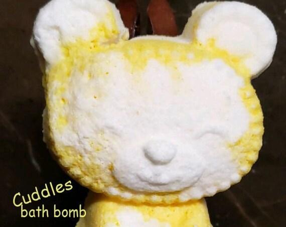 Teddy bear Bath Bomb/ Cuddles