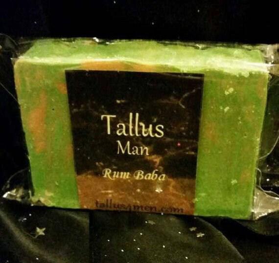Rum Baba Goat Milk Soap/Tallus Soap 4Men
