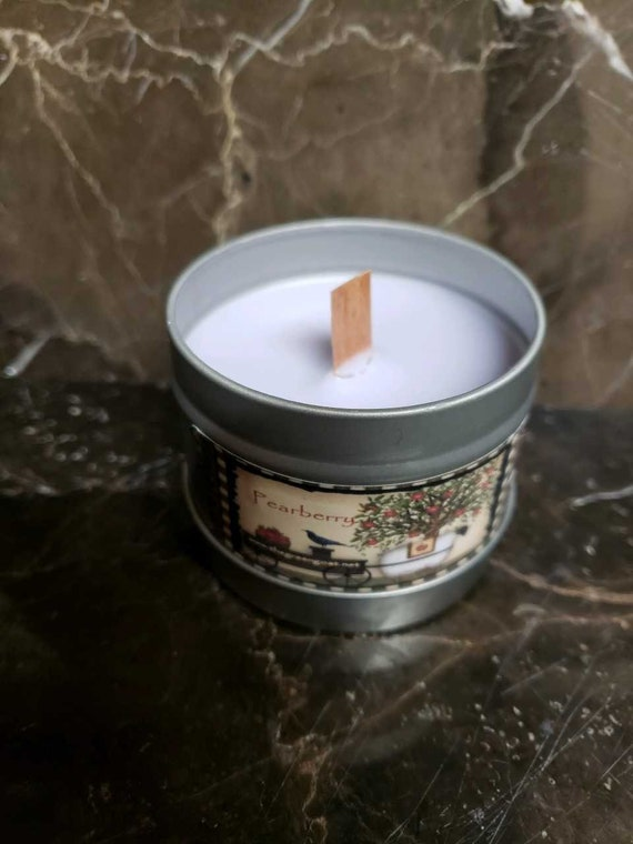 Pearberry Soy Candle in tin