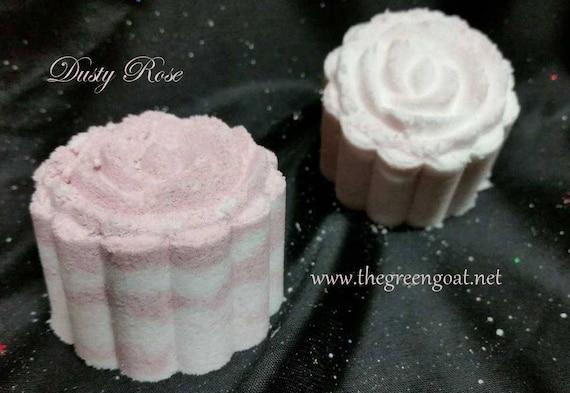 Moon Cake Bath Bomb/Bath Bomb/Dusty Rose Bath Bomb