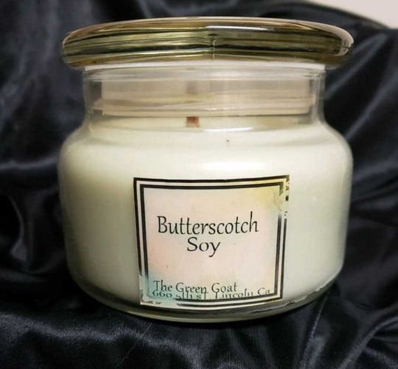 Butterscotch Soy wood wick Container Candle
