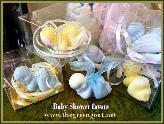 20 Snuggle Baby goat milk soap/Baby Shower Favors