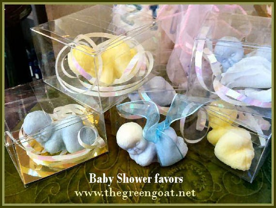Snuggle Baby goat milk Baby Shower Favor Soap