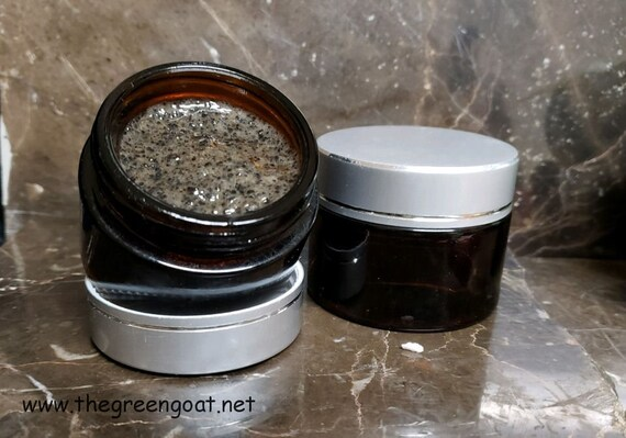 Bliss Activated Charcoal Chocolate Almond Mint Sugar n Coffee Scrub n Face Masque
