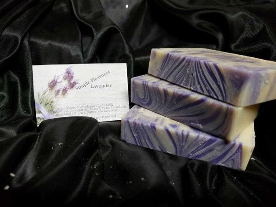 Goat Milk Soap Lavender