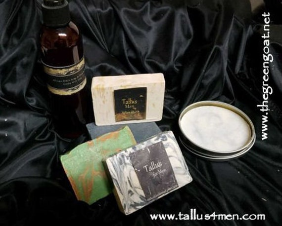 Goat Milk Soap,Tallus Mens Gift Pack