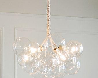 Sample Sale:  X-Large Bubble Chandelier by PELLE