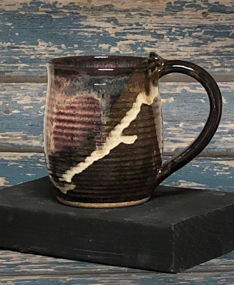 Stoneware Pottery Coffee Tea Mug Cup