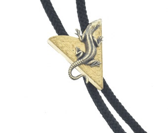 36 cord in black Scorpion Bolo Tie Lariat turquoise or olive green FREE Shipping red Made in USA Each